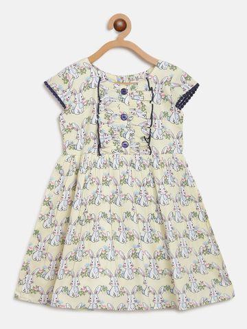 Bellamoda | Bella Moda A line, Fit & Flair, Casual Dress, For Girls, Multicolor,3 - 6 Months