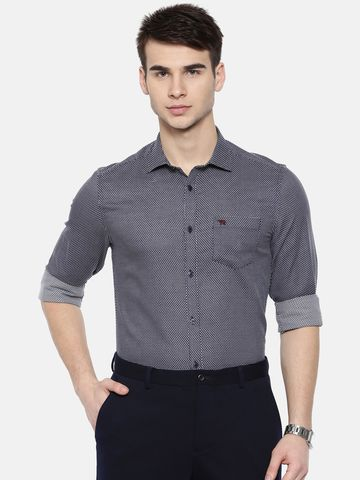 The Bear House | TBH PREMIUM DOBBY FORMAL SHIRT WITH SIDE PANELS