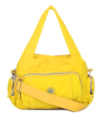 BAHAMA | BAHAMA Women Yellow Crinkle Nyon Handbags