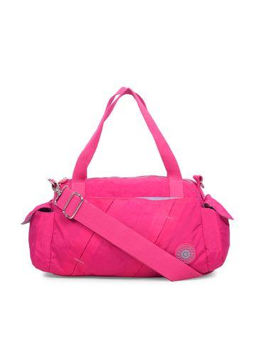 BAHAMA | BAHAMA Women Fuchsia Red Crinkle Nyon Handbags
