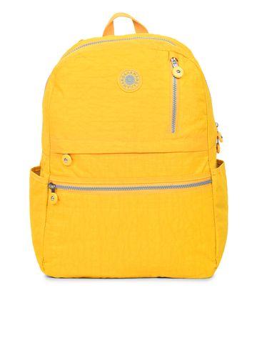 BAHAMA | BAHAMA Women Yellow Crinkle Nyon Backpacks