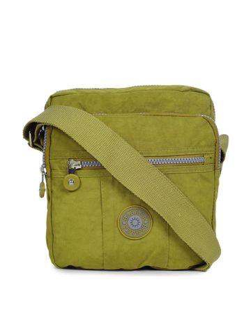 BAHAMA | BAHAMA Women Dark Yellow Crinkle Nyon Handbags