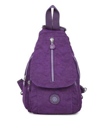 BAHAMA | BAHAMA Women Purple Crinkle Nyon Backpacks