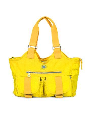 BAHAMA | BAHAMA Women Yellow Crinkle Nyon Handbags