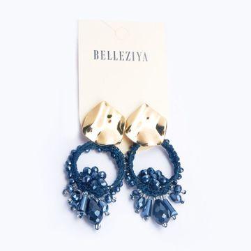 BELLEZIYA | Belleziya Gold Finish Beaded Earring Drop Down Fancy Party Wear Jewelry For Women/Girls