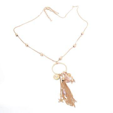 BELLEZIYA | Belleziya Gold Finish Stylish Necklace for women/Girls