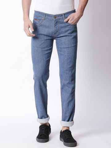 Bolts & Barrels | Bolts and Barrels Men Blue Slim Jeans