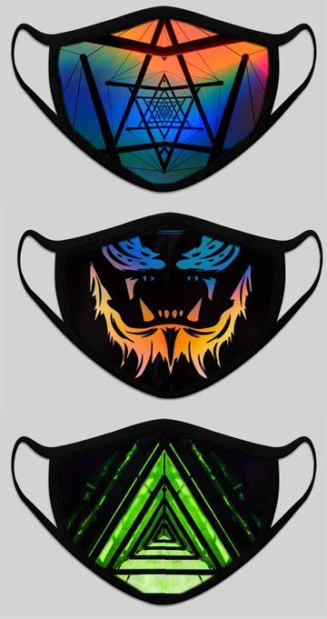 Bolts & Barrels | Designer Printed Two Layer Reusable Mask By Bolts & Barrels