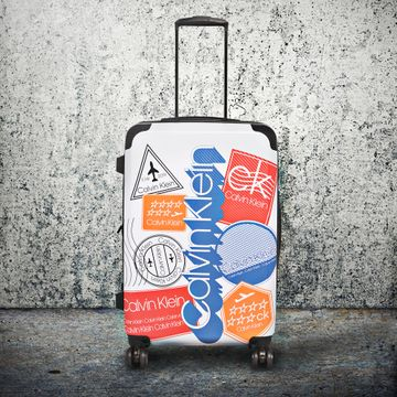 Calvin Klein | Calvin Klein Unisex Multicolor ABS/PC Suitcases