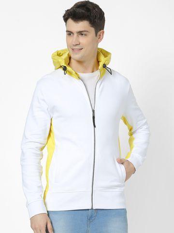 celio | 100% Cotton White Hoodies