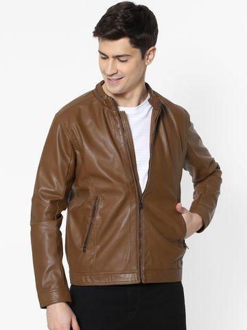 celio | Camel Biker Jacket