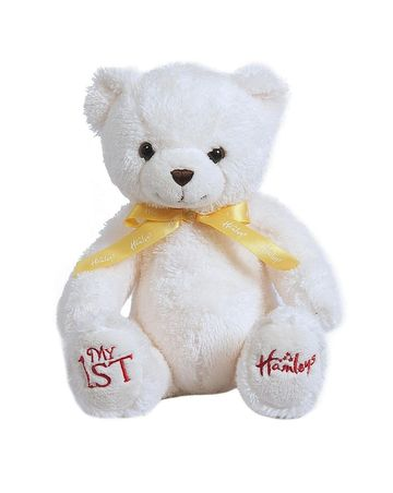 Hamleys | Hamleys My First Teddy Bear (White)