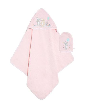 Mothercare | Confetti Party Cuddle 'N' Dry and Mitt Set