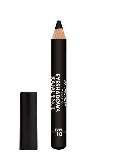 Deborah Milano   EyeshadowKajal Pencil - 01 Mat Black