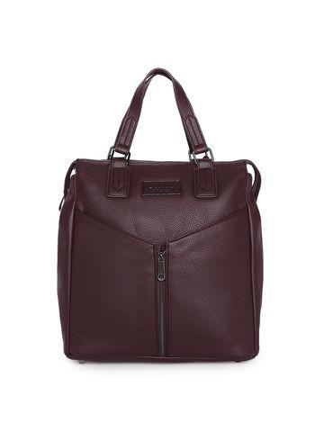 DKNY | DKNY Unisex Burgundy Synthetic Backpacks