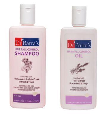 Dr Batra's | Dr Batra's Hair Fall Shampoo And Oil 200Ml Each