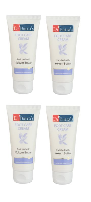 Dr Batra's | Dr Batra`s Foot Care Cream - 50 gm (Pack of 4 for Men and Women)