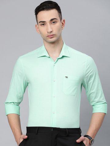 The Bear House | Men's Green Fil-a-Fil Shirt