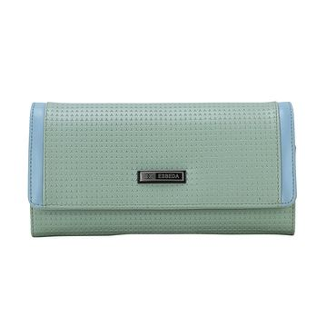 ESBEDA | ESBEDA Pista Color Emboss Texture Wallet For Women