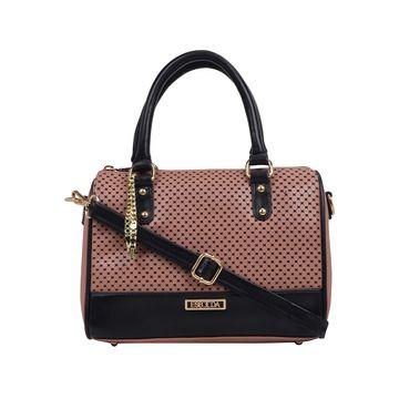 ESBEDA | ESBEDA Peach Color Twill Hand Bag For Women