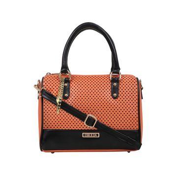 ESBEDA | ESBEDA Orange Color Twill Hand Bag For Women