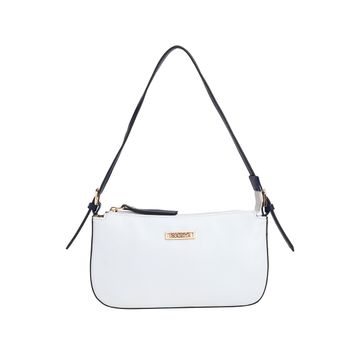 ESBEDA   ESBEDA White And Dark Blue Color Drymilk Handbag For Women