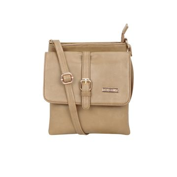 ESBEDA | ESBEDA Beige Color Drymilk Sling bag For Women