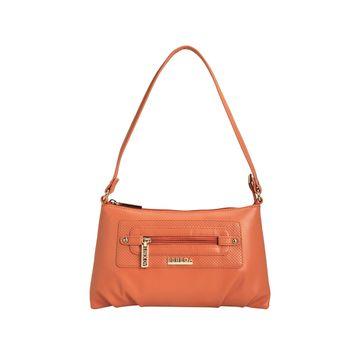 ESBEDA | ESBEDA Orange Color Baize Handbag For Women