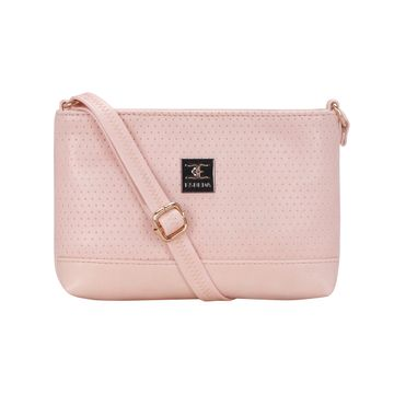 ESBEDA | ESBEDA Pink Color Twill Slingbag  For Women