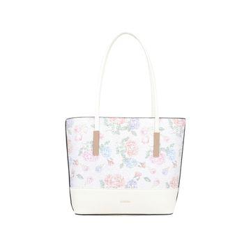 ESBEDA | ESBEDA White Color Twill Hand Bag For Women