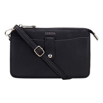 ESBEDA | ESBEDA Black Color Small dailyuse sling bag For Women