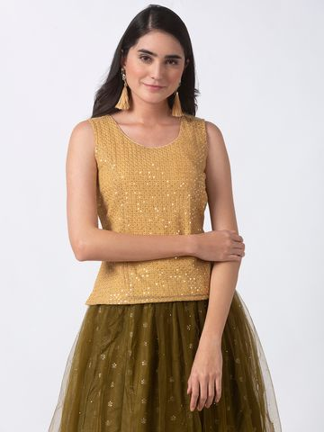 Ethnicity | Ethnicity Gold Shantoon Women Top