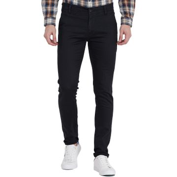 TAHVO | Black TAHVO Men chinos