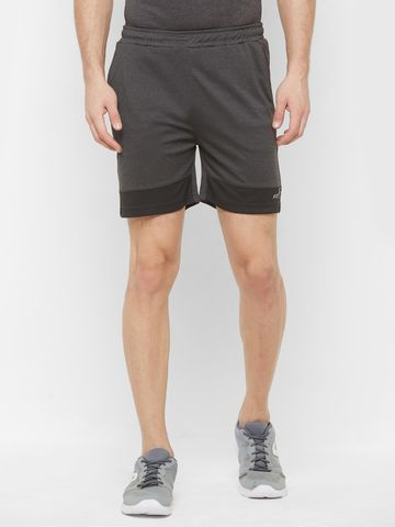 FITZ | grey solid shorts