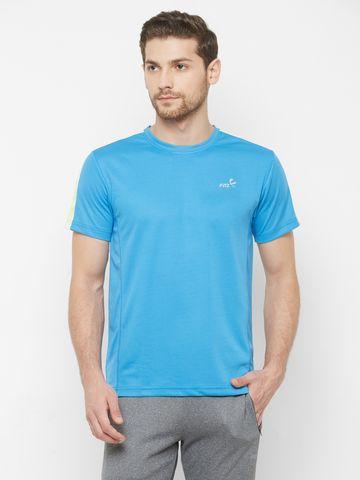 FITZ | Blue Solid Tshirt