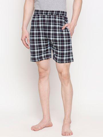 FITZ | Fitz Cotton Checks Shorts For Men