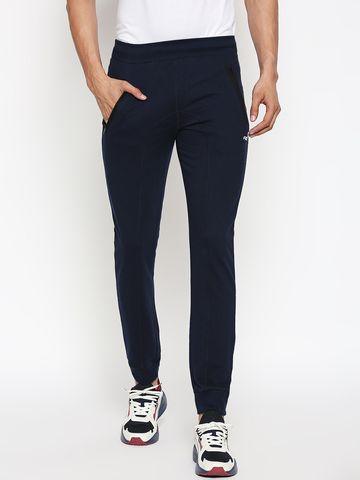 FITZ | navy blue solid jogger