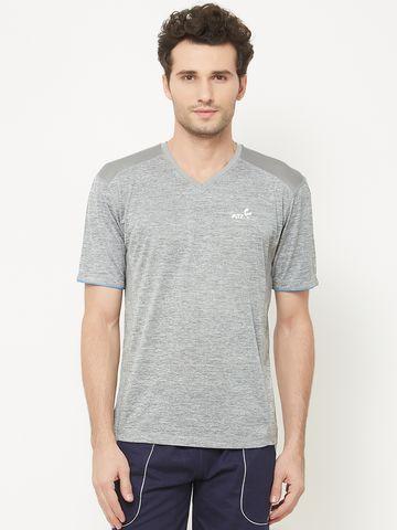 FITZ | Grey Solid Tshirt