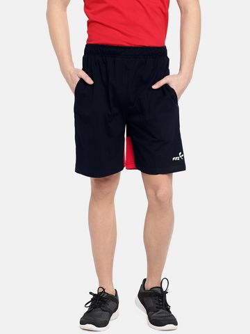 FITZ | navy blue cotton shorts