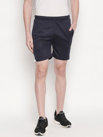 FITZ | blue solid shorts
