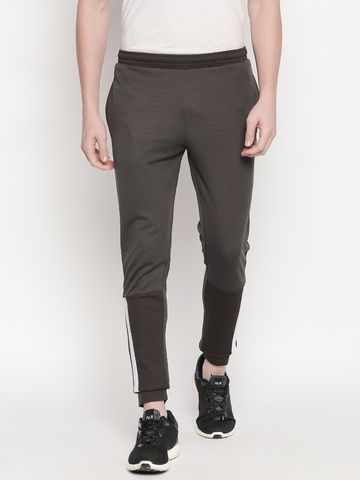 FITZ | Fitz Polyester Brown Activewear Joggers Track Pants For Mens.