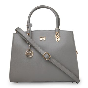 globus   Globus Dark Grey Hand Bag