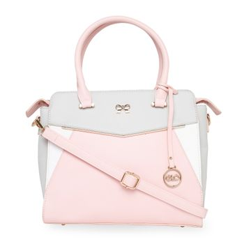 globus | Globus Grey Nude & White Hand Bag