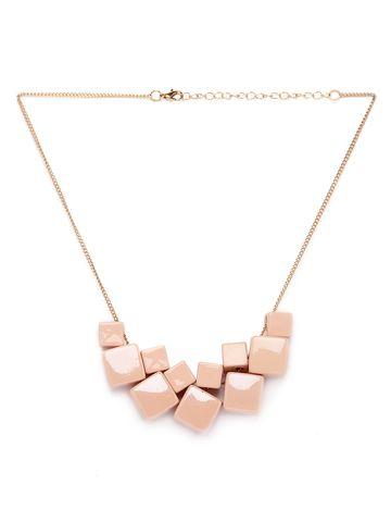 globus   Globus Pink Fashion Necklace