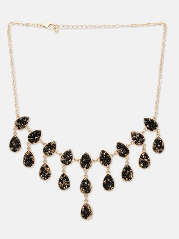 globus | Globus Black Statement Necklace