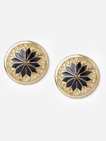 globus | Globus Gold Ethnic Earring