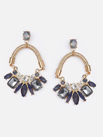 globus | Globus Gold Long Earring