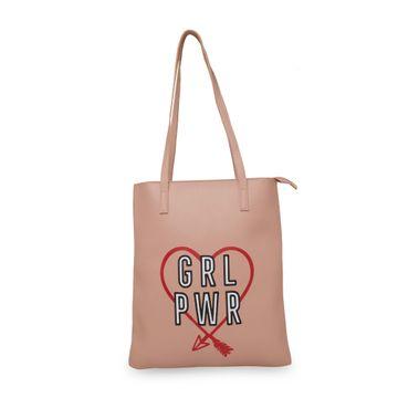 globus | Globus Nude Graphic Bag