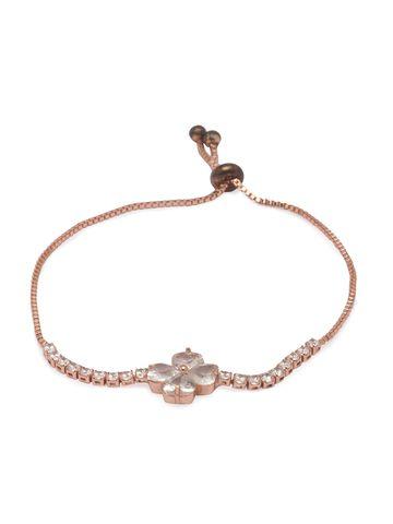 globus | Globus Rose Gold Friendship Bracelet