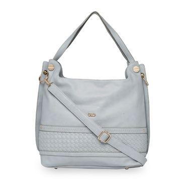 globus | Globus Light Grey Hobo Bag